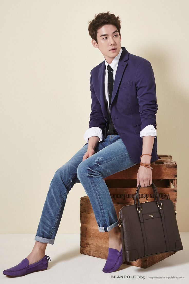Yoo Yeon Seok for Beanpole Accessory 2015 S/S Collection - Briefcase
