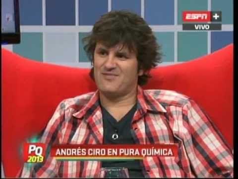 Andres Ciro en Pura Quimica (01-03-2013)