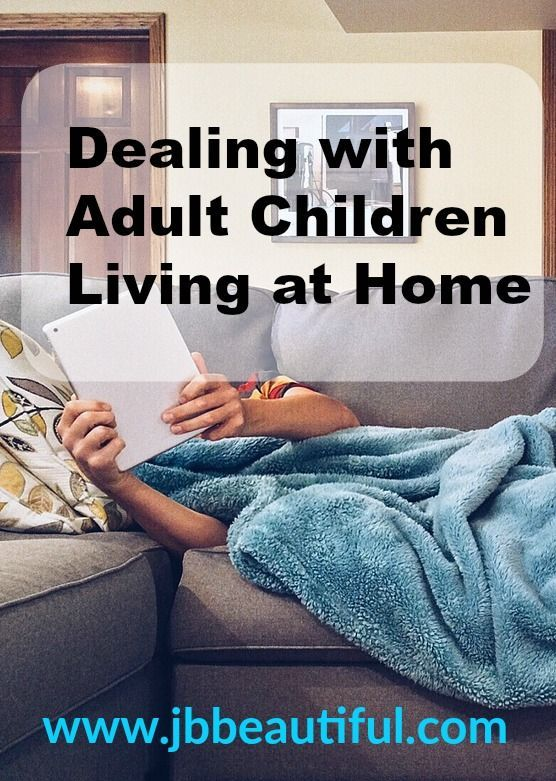 High 5 Ideas for Coping with Grownup Kids Dwelling at House