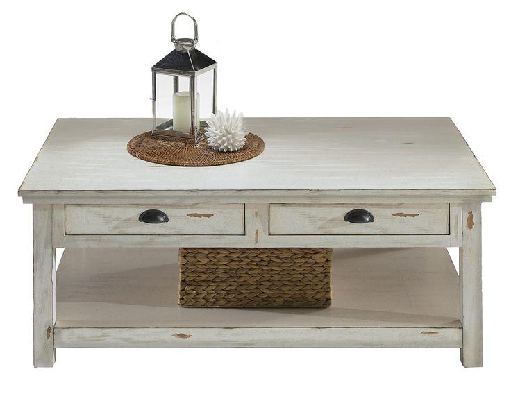 2drawer rectangular cocktail table