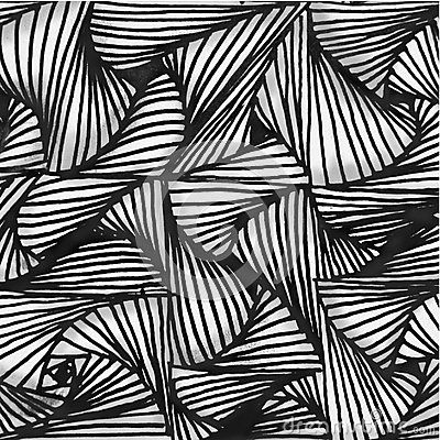 Abstract Background Hand Drawn Pattern Black And White Shapes With 3D Effect - Download From Over 56 Million High Quality Stock Photos, Images, Vectors. Sign up for FREE today. Image: 88486996