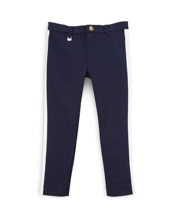 Ralph Lauren Childrenswear Girls' Side Stripe Pants - Sizes 2-6X