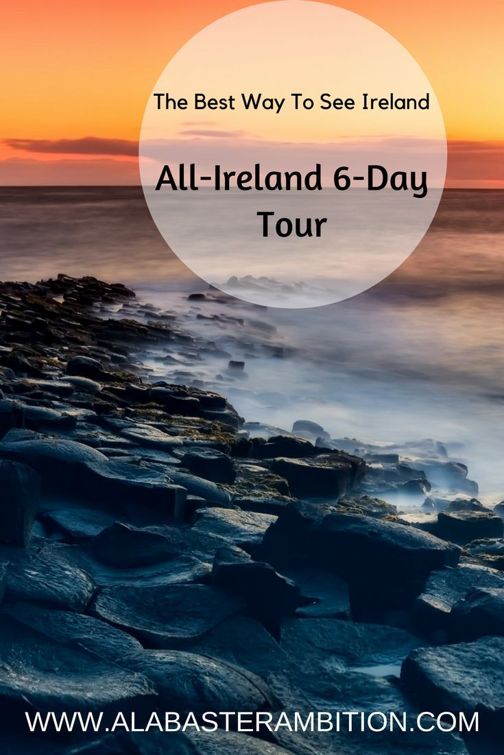 A great way to see Ireland in 6 days! There are great ways to do this crazy cheap too! #Ireland #Dublin #Europe #Guinness #GiantsCauseway #CliffsMoher