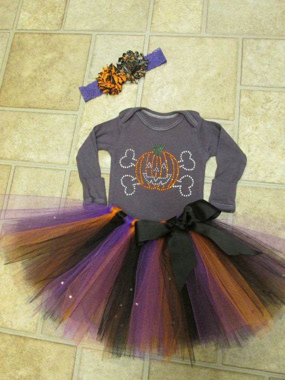 2014 Halloween Bling Tutu Outfit