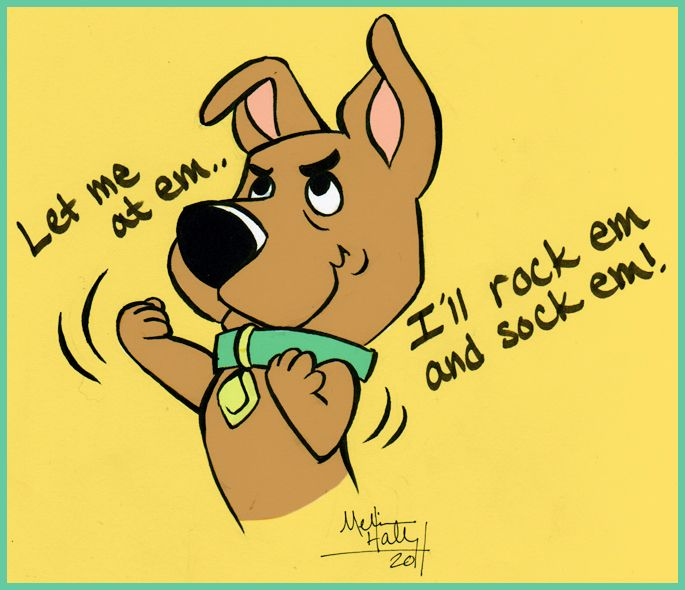 scrappy doo and scooby relationship