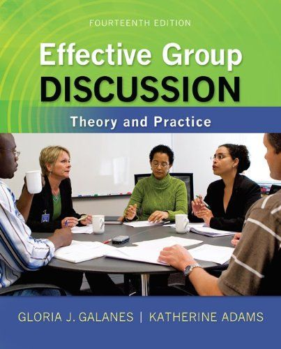Effective Group Discussion Galanes 19
