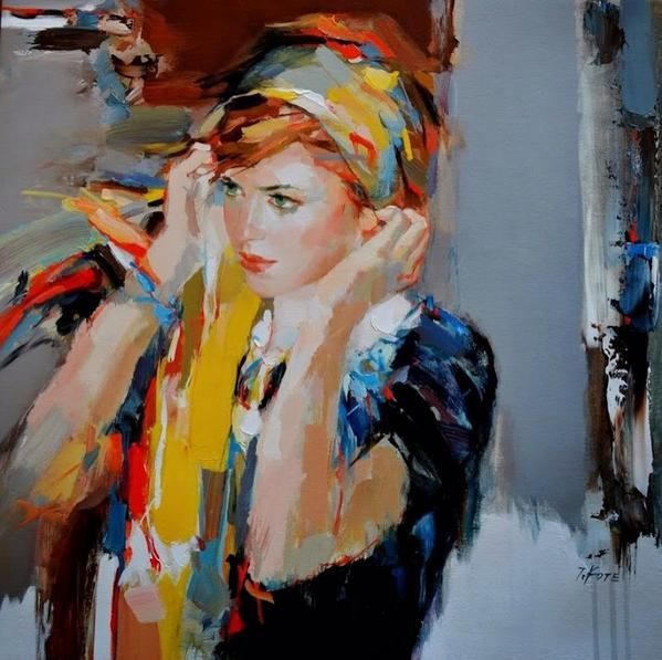 Jeff Kote contemporary russian abstract realist painters ...