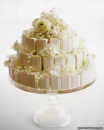 Boxed Wedding Favor Cake
