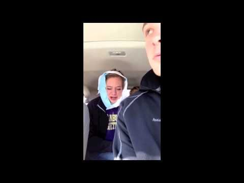 A girl laments the loss of her teeth - funniest post-wisdom teeth removal video yet!
