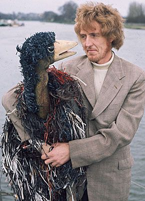 Emu and Rod Hull