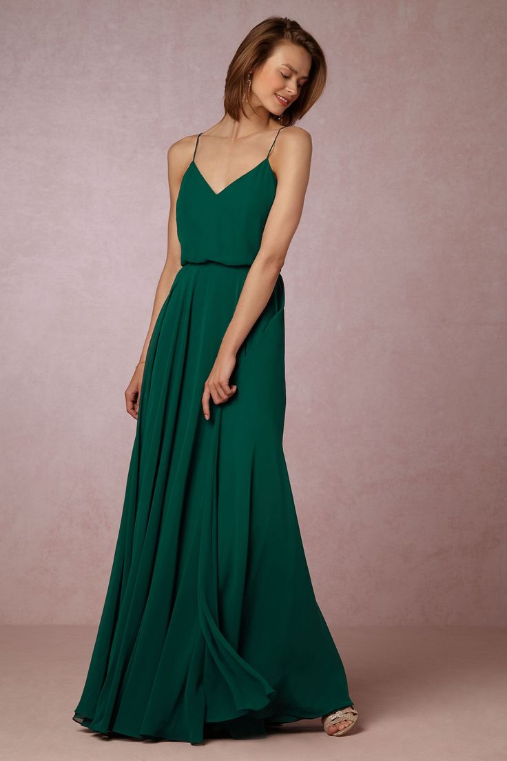 Inesse Dress from @BHLDN - My idea of the perfect bridesmaid dress...a little pricey though.
