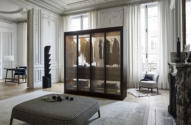 B B Italia Function That Furnishes Eracle Wardrobe Is The