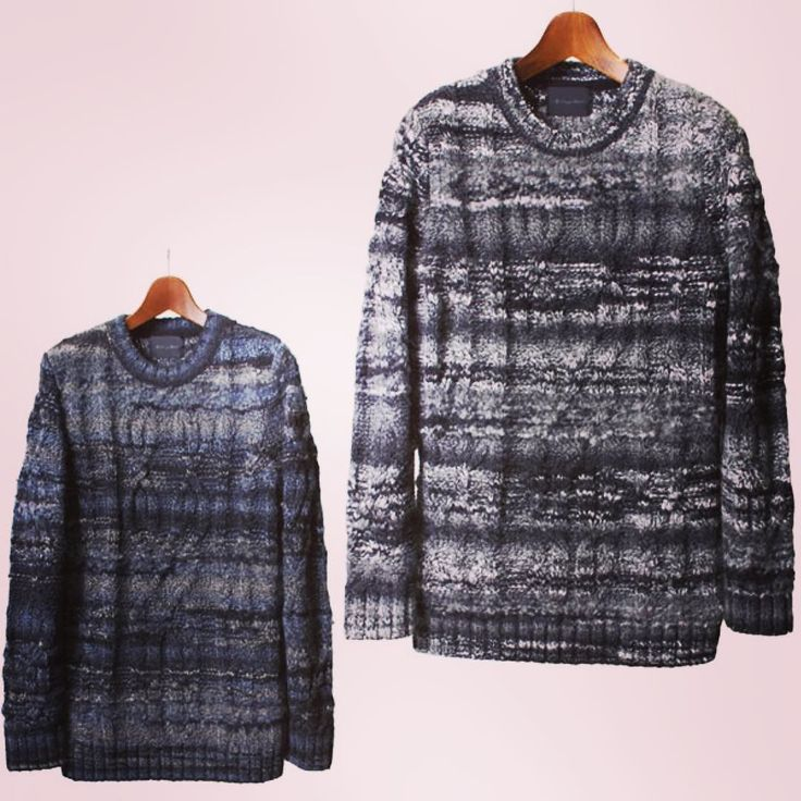 alleycompany.co.jp LOUNGE LIZARD KNIT TIGROTTO YARNS FROM ITALY  ラウンジリザードのクルーネックニットボーダーテイストのカラーリングにケーブル編みを入れたりボリュームもあります同じニットでマフラーも  #loungelizard #ラウンジリザード #mood #ムード ##alleycompany #alleyonlineshop #fashion #fashiongram #ファッション #メンズファッション #ファッションブランド #通販サイト #通販 #セレクトショップ #knit #knitwear #knitstagram #ニット #ニットセーター #instafashion #instagood #instacool #instalike #お洒落さんと繋がりたい #おしゃれさんと繋がりたい #オシャレさんと繋がりたい #r_fashion #宇都宮 #栃木