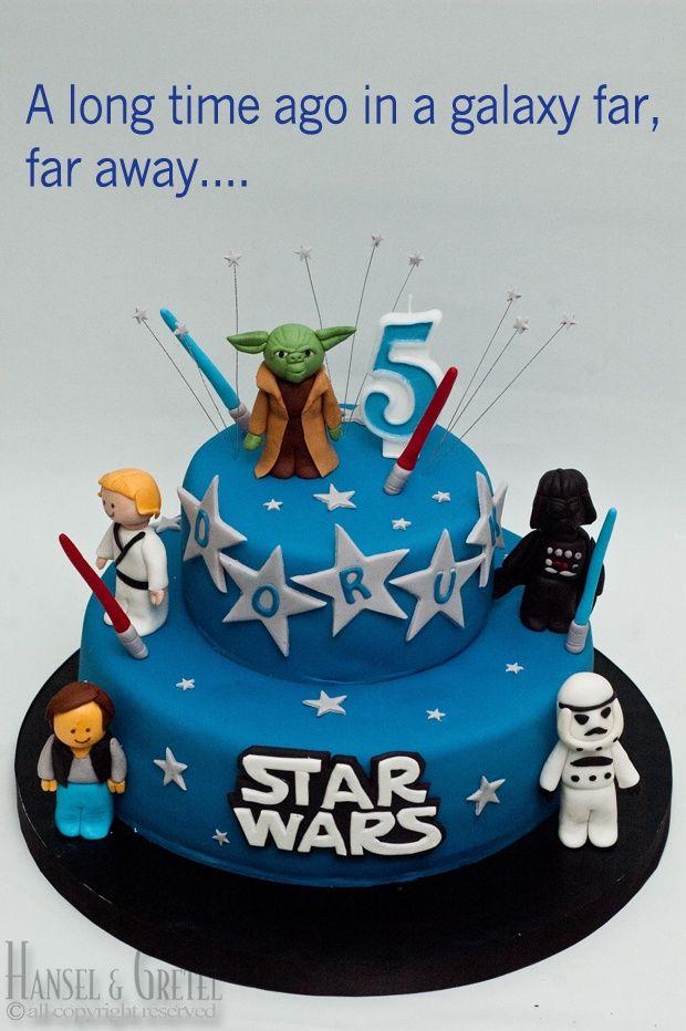 7 Tartas de cumpleaños Star Wars - DecoPeques                                                                                                                                                      Más