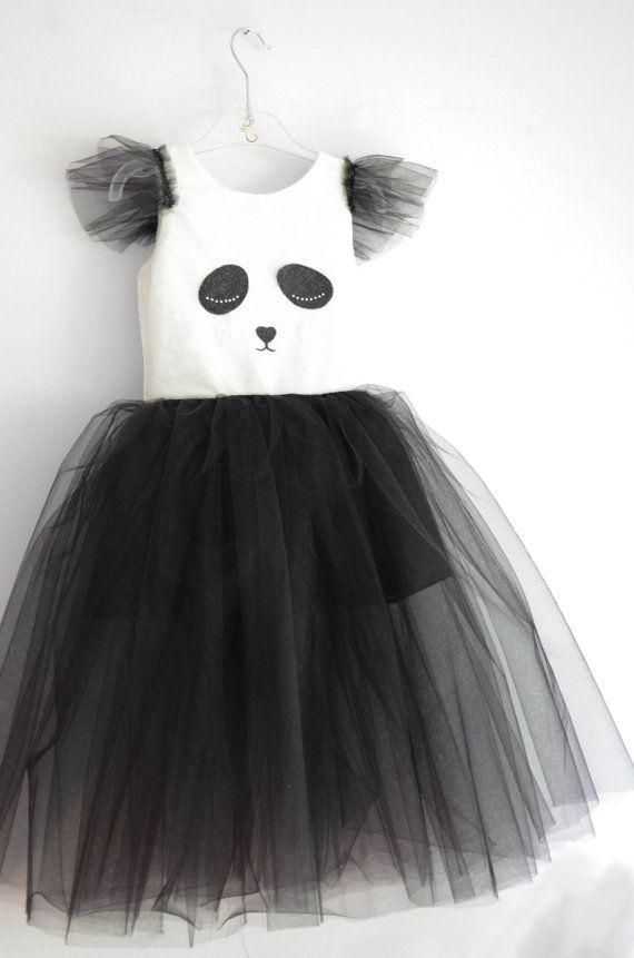 Panda dress / Panda costume