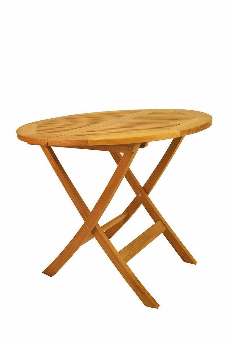 Windsor 31 inch Round Picnic Folding Teak Table |TBF-031R