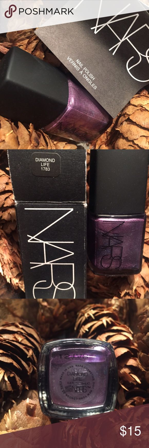 NARS Shimmer Nail Polish, Diamond Life NARS Shimmer Nail Polish, Diamond Life. Brand new with box and paper booklet. NARS Other