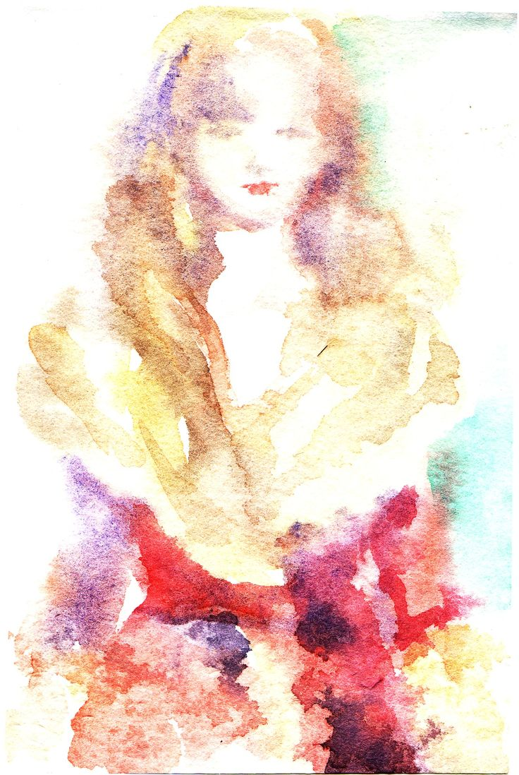 water color.2011 森島花