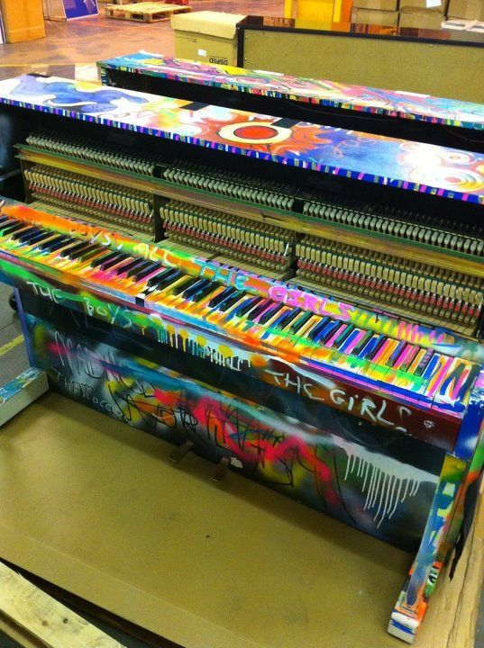 Psychedelic Coldplay Piano