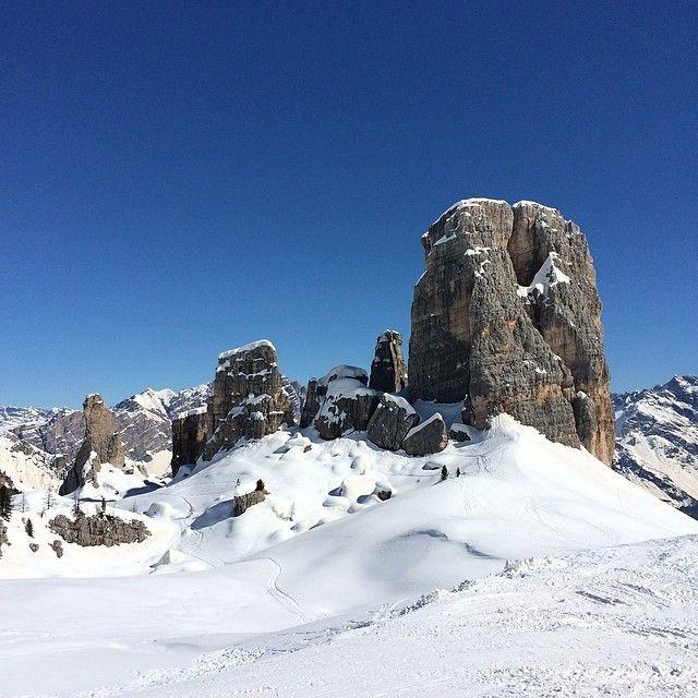 #dolomites 5 Torri @Cortina d'Ampezzo #dolomitesski #holimites