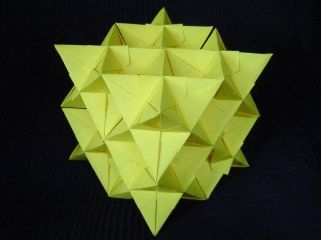 ::::    PINTEREST.COM christiancross    ::::  paper 3D triangle