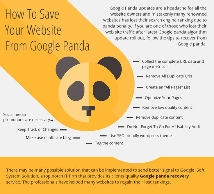 @softsystemsol , a top notch IT firm that provides its clients quality #Google #panda #recovery service. The professionals have helped many websites to regain their lost rankings.