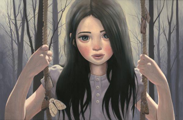 Frayed by pop surrealist Ana Bagayan