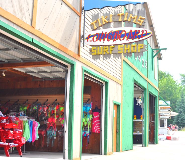 Enchanted clothing store