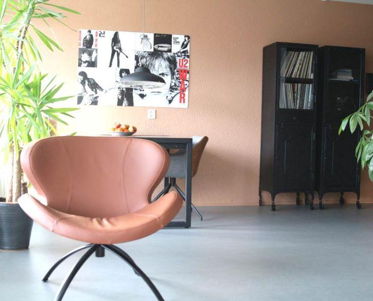 interieuradvies woonkamer leeuwarden appartement zithoek eethoek keuken friesland by Via Lin na3