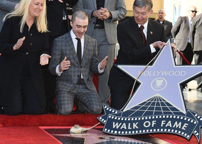 Daniel Radcliff ganha sua estrela na Calçada da Fama
