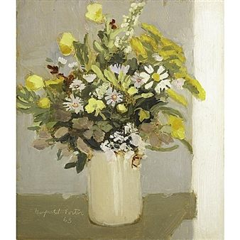 August Wildflowers By Fairfield Porter ,1965