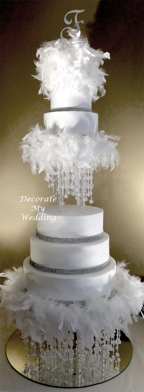 crystal wedding cake | DECORATE MY WEDDING.COM Crystal Wedding Cakes
