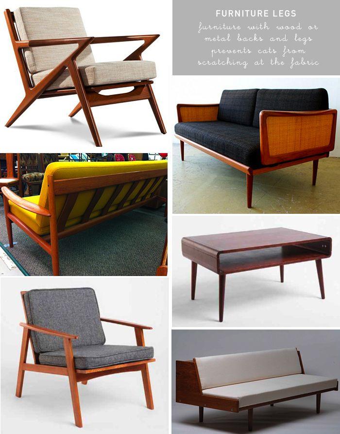Pet Cat Friendly Design Tips Blog Media Tech Pinterest Furniture Legs Living Rooms