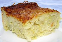 Potato Zucchini Kugel - trying out this recipe