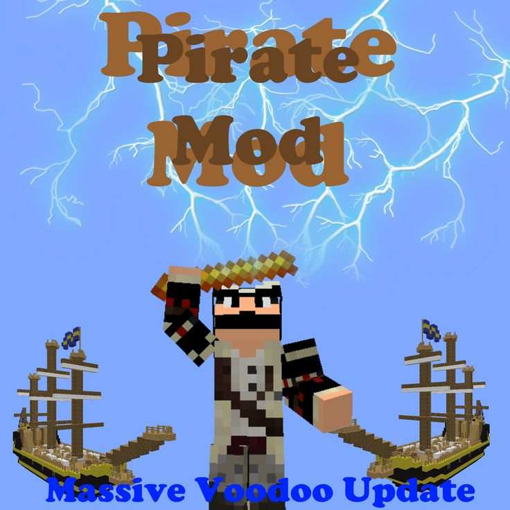 Download Pirate Craft Mod Mod 1.13/1.12.2/1.11.2 - All the piraty things in one mod!...