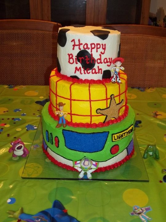Toy Story Cake for Micah's 2nd