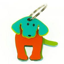 mywalit dog keyring leather - Google Search
