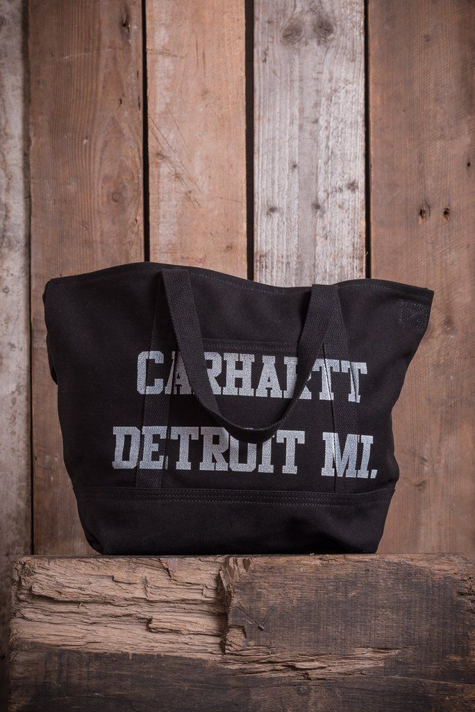 Carhartt Bondi Tote - Black White - Small Bags - The Priory - 1