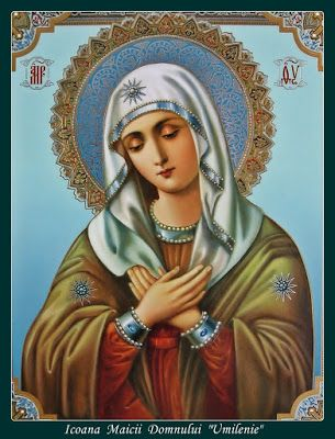 UNIUNE SPIRITUALA: Rugăciune scurtă către Maica Domnului (Floarea Sme...
