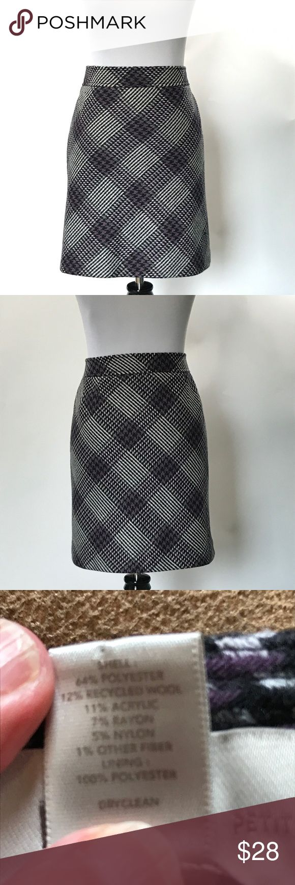 J.Crew  Wool Plaid skirt size 8 Wool plaid skirt by J.Crew factory outlet,  size 8. Skirt is a line with bias cut wool. It is lined. Please check pictures for garment information and measurements. Thanks for visiting my closet! J.Crew Skirts A-Line or Full