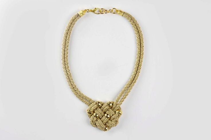 Necklace Cruising - Beige
