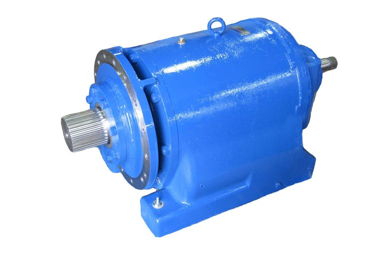 Large 18000 Series Reducer with special Splined Input and Output.
