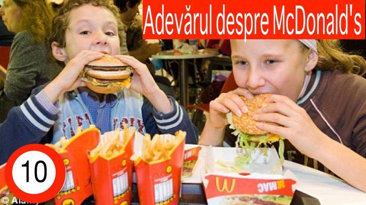 Merita sa vedeti si cealata fata a celor de la McDonald's. O fata asa cum este nu cum o vedem in reclame.