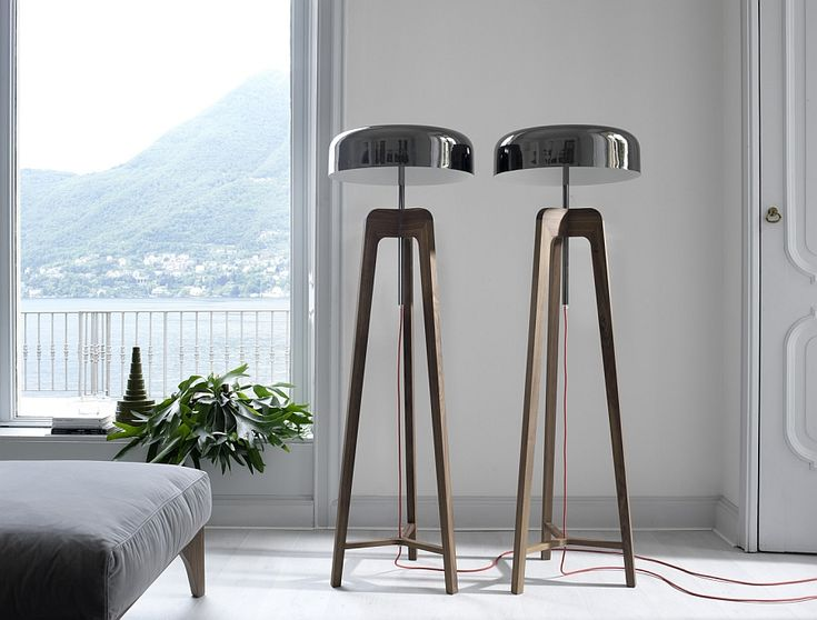 Exclusive floor lamps with Tin-Plated Shade