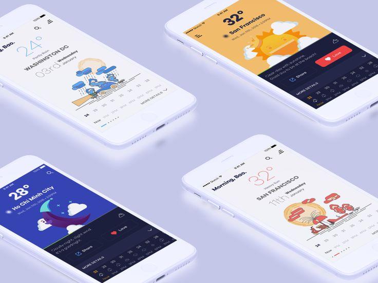 Schön Weather App