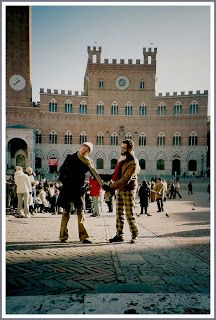Io e mia moglie a Siena