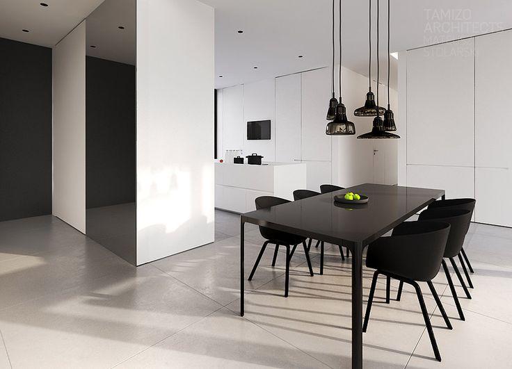 Projekt wnętrz domu jednorodzinnego, Warszawa | TAMIZO ARCHITECTS