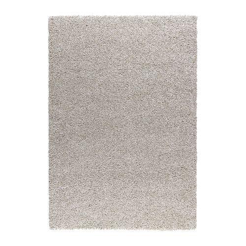 ALHEDE Tappeto, pelo lungo, bianco sporco bianco sporco 160x240 cm