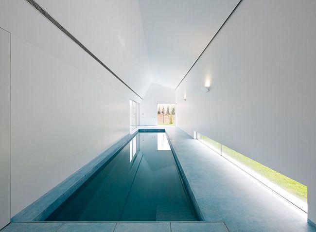 Notre sélection de #piscines intérieures : Couloir de nage