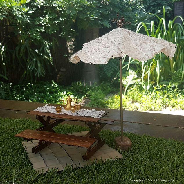 make a fairy umbrella that works, crafts, diy, gardening, repurposing upcycling